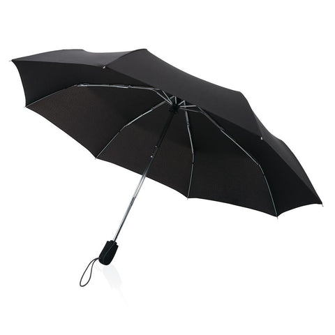 "Traveler 21"" Automatic Umbrella, Black"