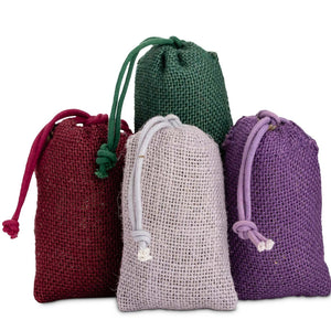 Jute lavender sachet set of 2 - Lavender by the Bay