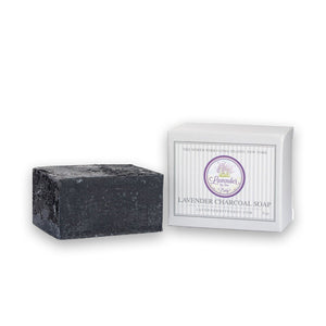 Lavender Charcoal Soap - Limited Edition - Lavender By The Bay