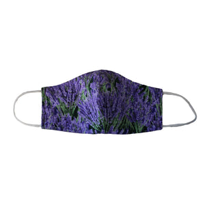 Lavender Fields Face Mask