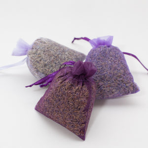 Sheer Lavender Sachets - Lavender By The Bay