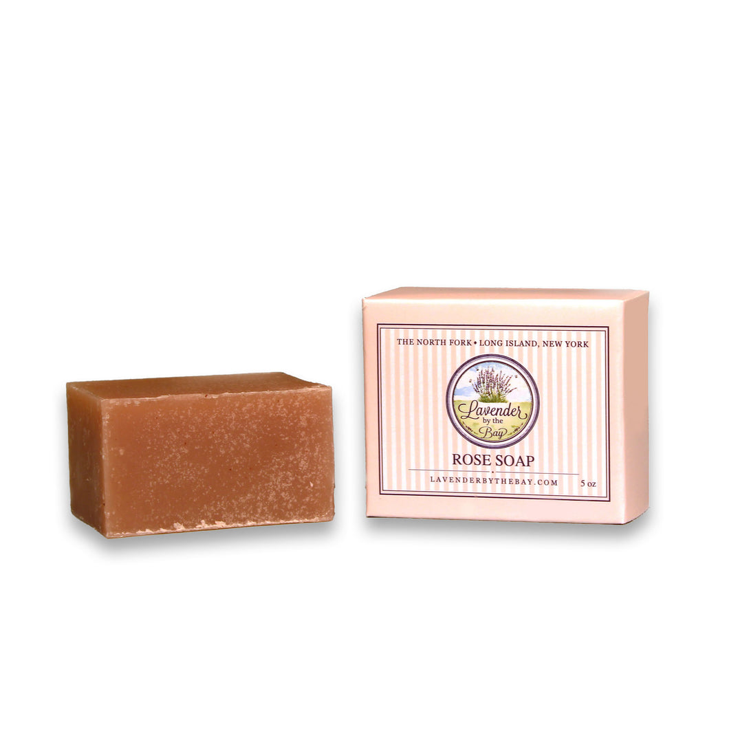 Rose Bar Soap - Lavender By The Bay
