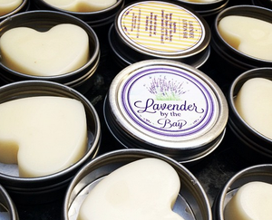 Lavender Beeswax Lotion Bar - Lavender By The Bay