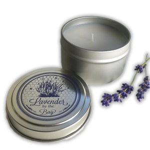 Travel Tin Scented Candle - Lavender By The Bay