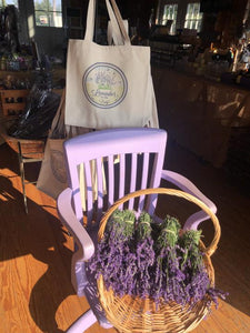 Lavender by the Bay Tote Bag