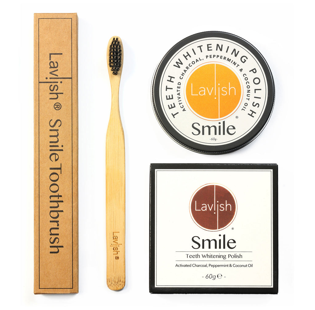 Laviish Smile & Bamboo Toothbrush