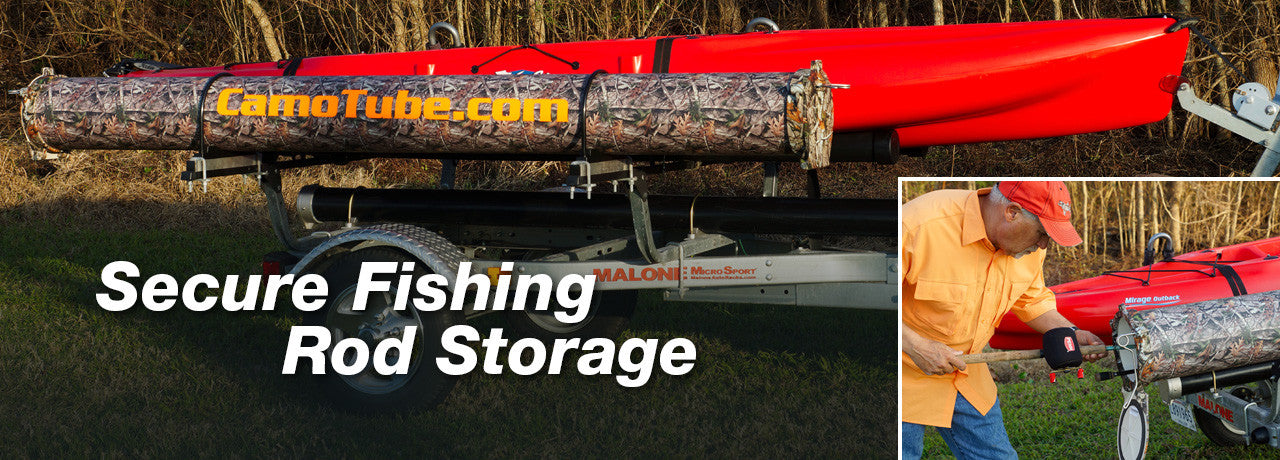 Secure Fishing Rod Storage