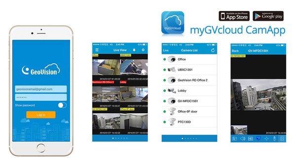myGVcloud Mobile App
