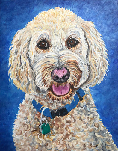 Dog Portrait Commissions in Atlanta