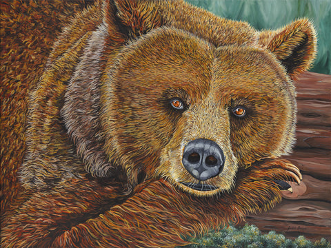 Grizzly Bear Painting