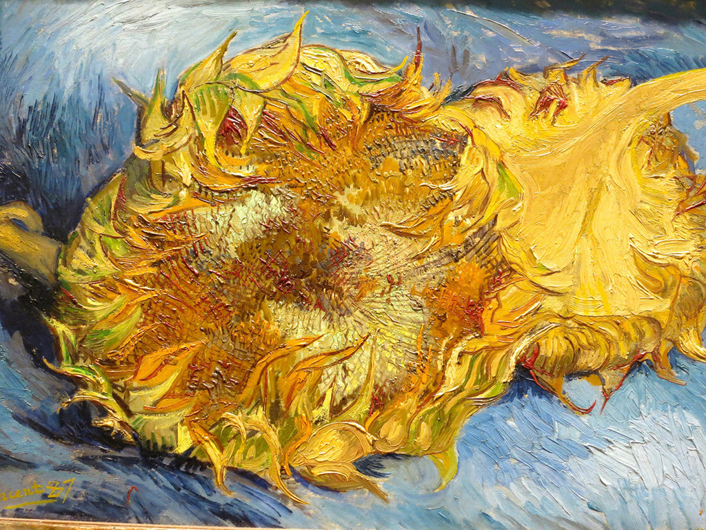 Van Gogh's Misery and Music