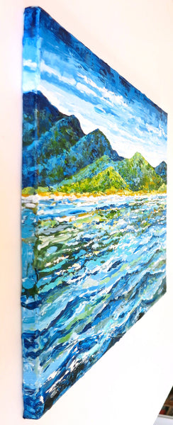 original seascape painting by Jill Saur