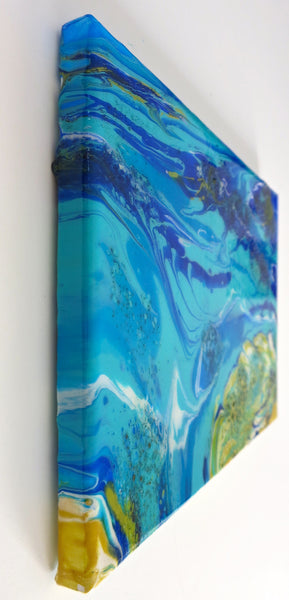 Abstract Sea Painting by Jill