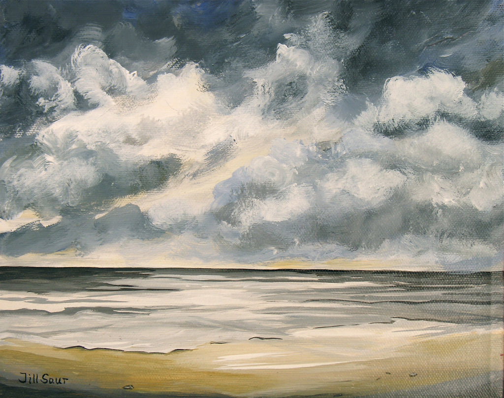 Seascape Painting by Jill Saur