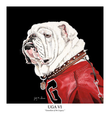 Uga VI Painting by Jill Saur