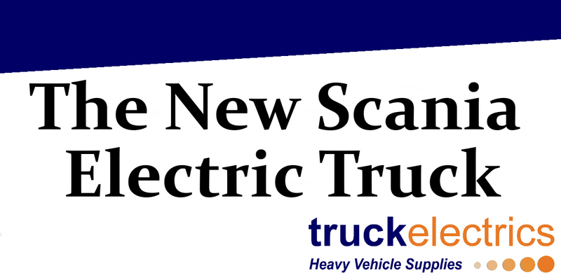The New Scania Electric Truck