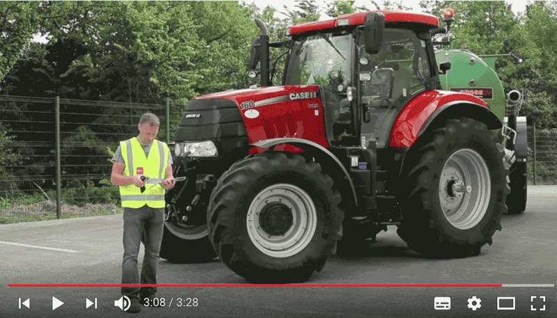 RSA IRELAND Video - Agricultural Vehicles - Lighting & Visibility Requirements