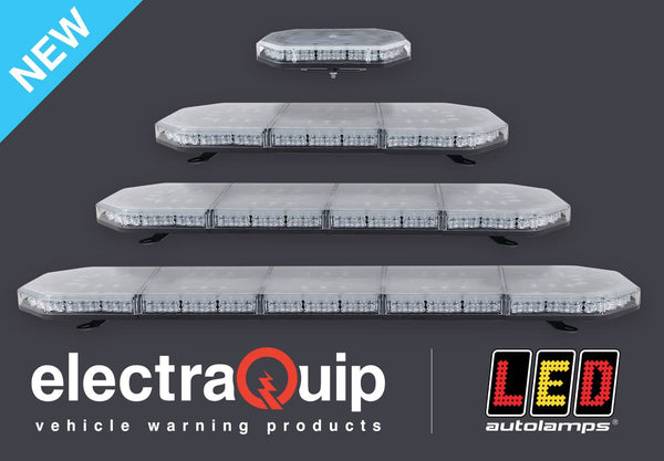 led emergency light bar electraquip