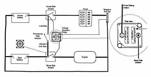 vsr electrical drawing