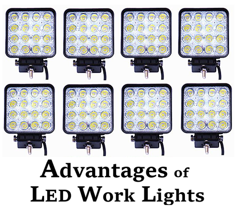 advantages of led work lights