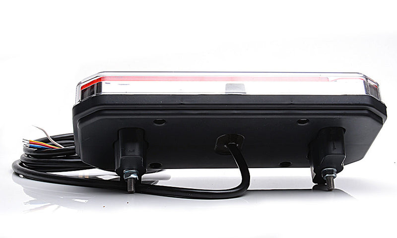 Rear Combination Trailer Lamp with Dynamic Indicator + Fog & Reverse Light