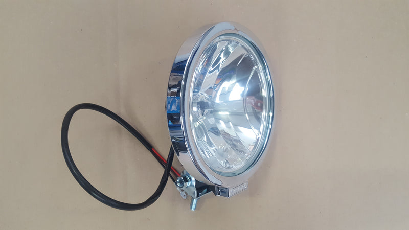 Compact Driving Lamp with Chrome Rim