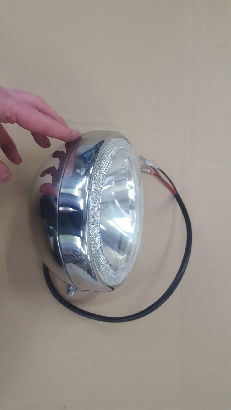 Stainless Steel Spot Lamp with LED Angel Eye Halo for Jeeps 4x4