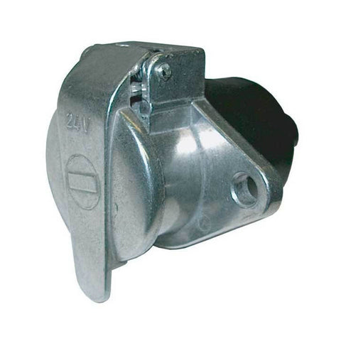 24N Trailer Socket Metal 7 Pole