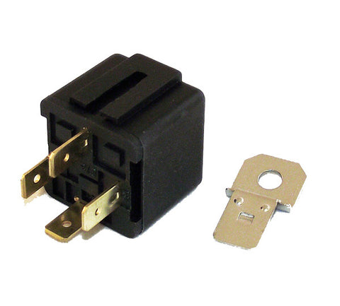 12v 30A 4 Pin Make or Break Relay with Bracket