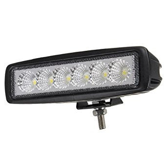 LED Work Light / Rectangular / 18w