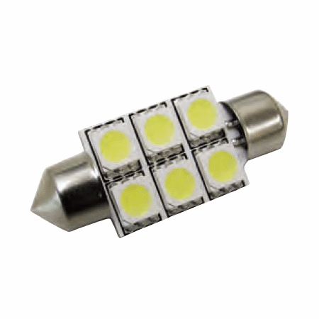 INTERIOR / NUMBER PLATE LED FESTOON 239/272, 36MM CANBUS BULB WHITE