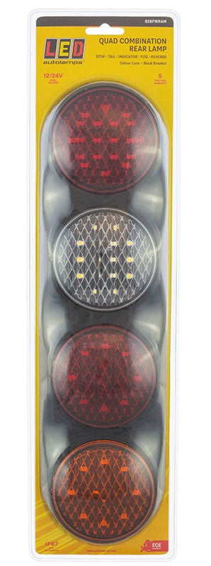Quad Combination Tail Lamp