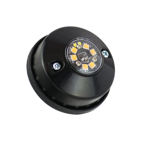 Amber Hideaway LED Warning Lamp 6-LED