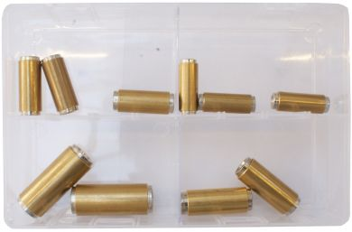 Assorted Brass Push Fit Couplings (Metric)