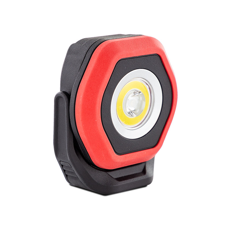 Dual-Beam Rechargeable Mini Work Light