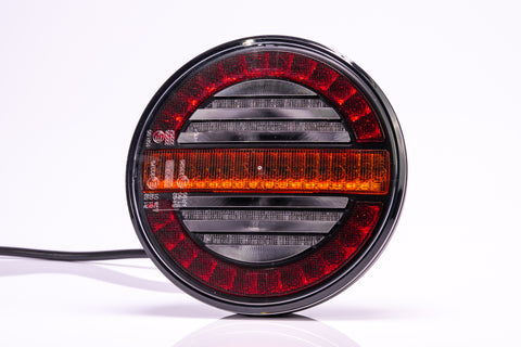 Round Trailer lamp with Dynamic Indicator