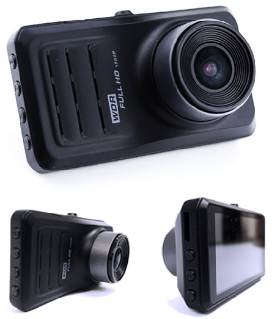 hd dash cam - front and back
