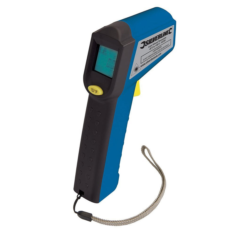 digital thermometer with laser