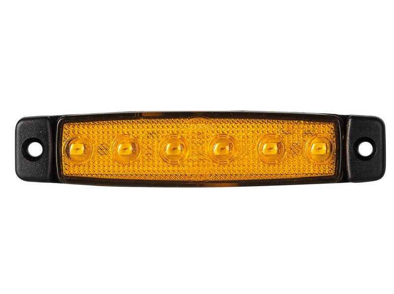 Slim Line LED Marker Lamp Amber