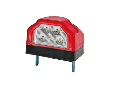 LED Number / Licence Plate Lamp with Position Lamp