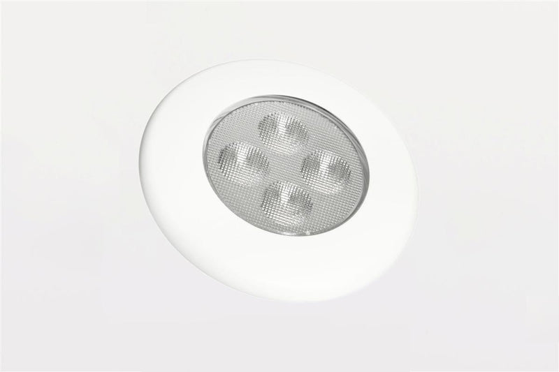 led interior lamp recessed for buses