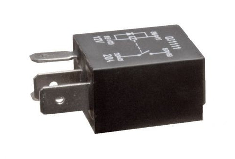 12V 20A MICRO RELAY 4 PIN / Normally Open  Pin Micro Relay Wiring on