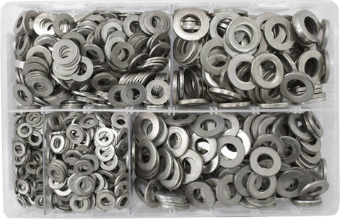 Assorted Flat Washers Metric (1,000)