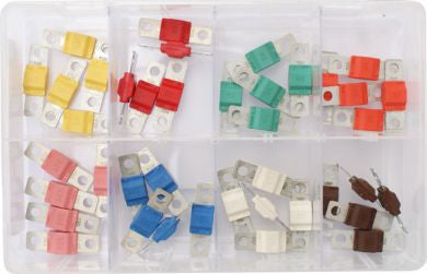 Midi Fuse Assortment, 30 - 125A - 40 Pieces