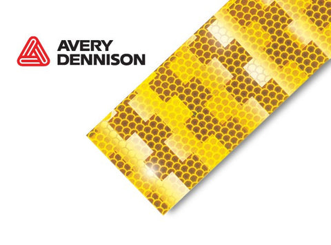 Avery Dennison Conspicuity Tape ECE 104 Approved, 50m  AMBER