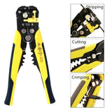 Wire Stripping, Cutting & Crimping Tool