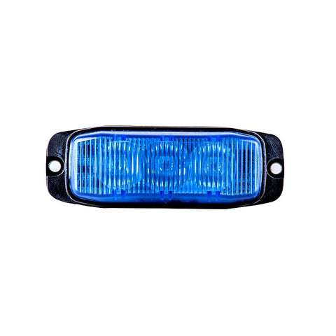 Blue LED Hazard Warning Strobe Light for Emergency Vehicles
