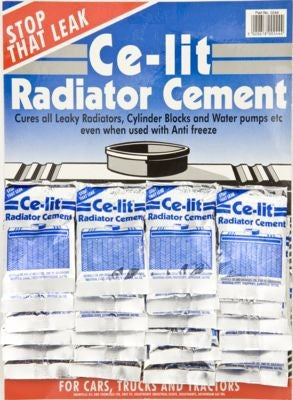 Ce Lit Radiator Cement, Card Display / Pack of 24