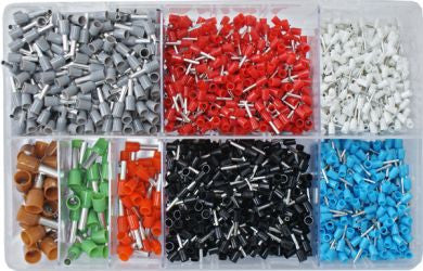 Cord End Terminals, French / 2600 Pieces