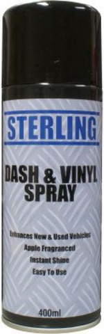 Dash & Vinyl Cleaner 400ml - Box of 12 Cans